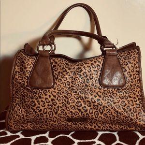 Jessica Simpson leopard print purse